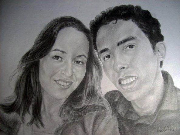 Desenho Feito para meu casamento