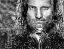 Aragorn Son of Arathorn by ~friedChicken365