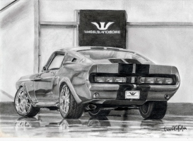 Ford Mustang Shelby GT500 .