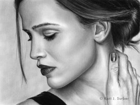 Jennifer Garner Drawing by ~KJS_1